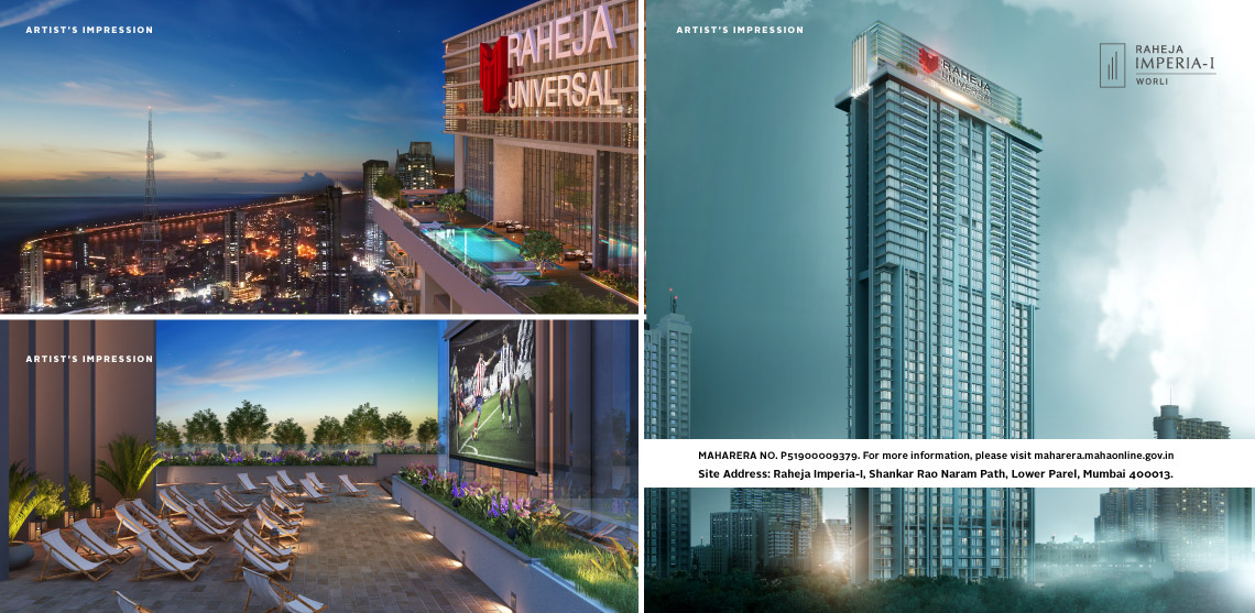 Raheja Waterfront- Atlantic & Pacific
